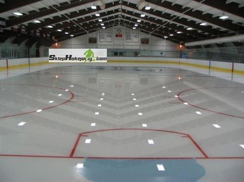 Linie oznaczajace na lodowisko hokejowe (2 komplety) + Linie oznaczające strefę bramki